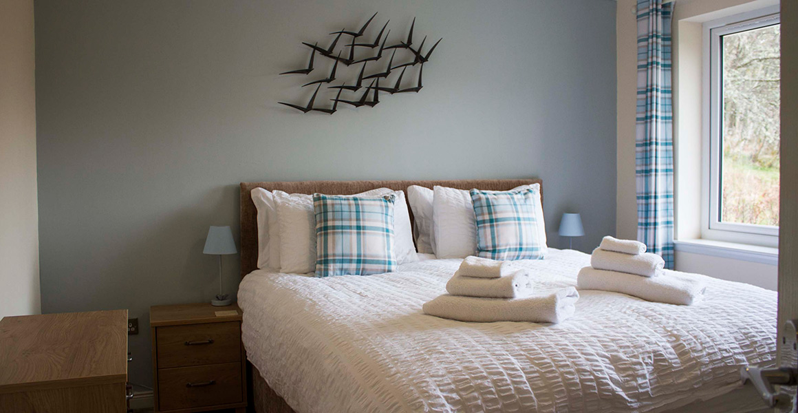 Shingle Bay Self Catering Double Bedroom
